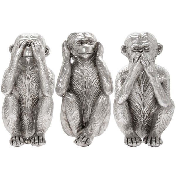 SILVERART THREEWISE MONKEYS S3
