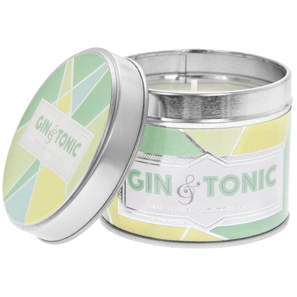 DESIRE GIN & TONIC CANDLE TIN