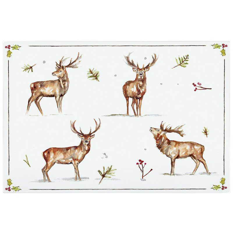 WINTER STAGS GLSS CUTTING BD L