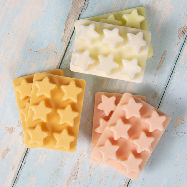 WAX MELTS STARS 6 ASSORTED