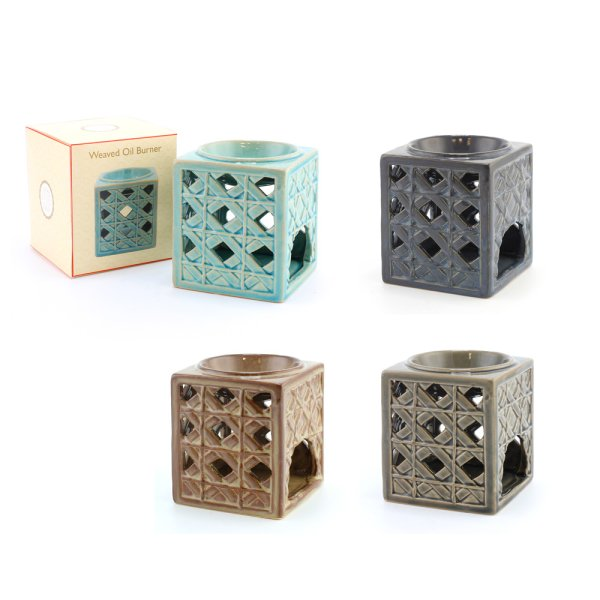 WEAVED OIL  BURNER 4 ASST
