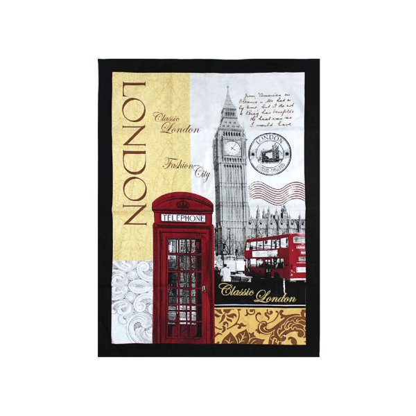 NEW LONDON TEA TOWEL