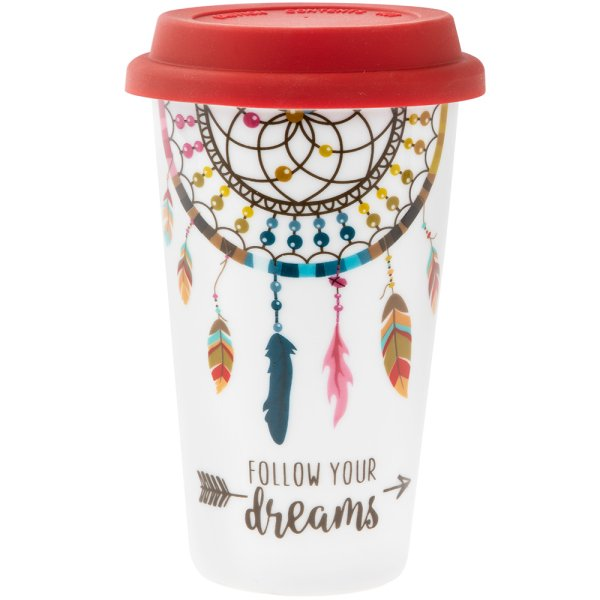FOLLOW YOUR DREAMS TRAVEL MUG