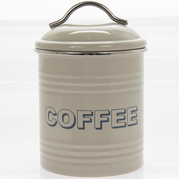 HSH SAGE COFFEE CANISTER