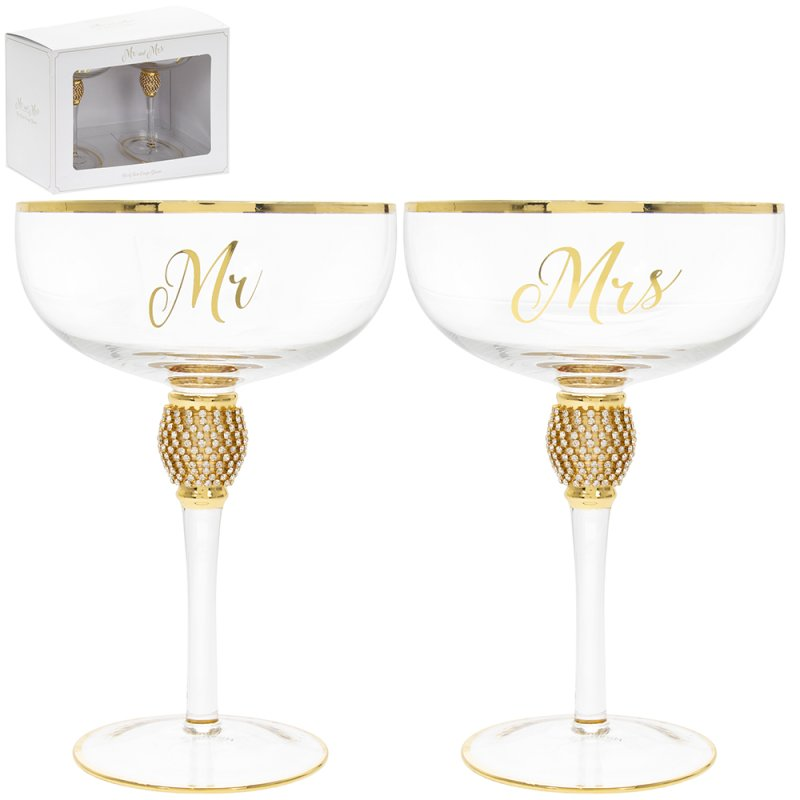 MR&MRS DIAMANTE COUPES GOLD
