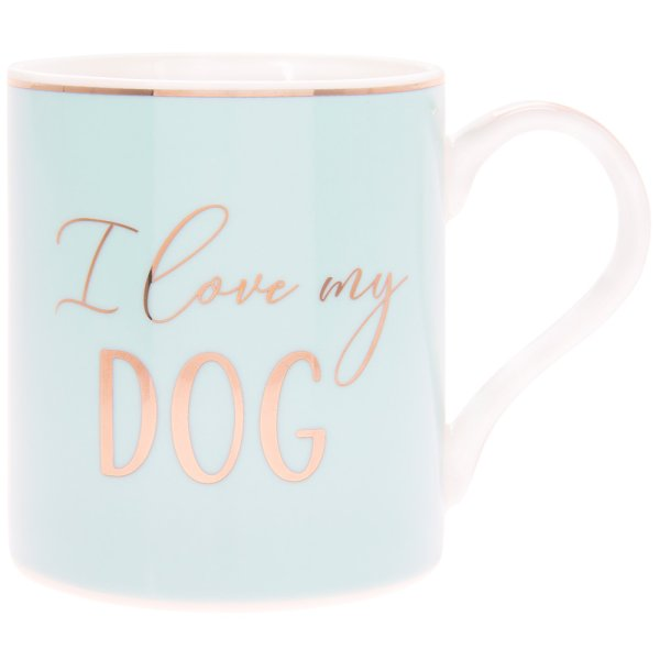 LET'S PARTY I LOVE MY DOG MUG