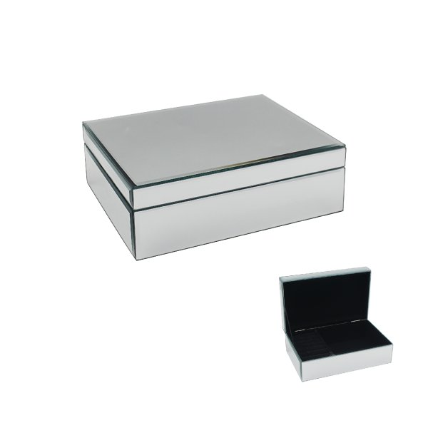 MIRROR JEWELLERY BOX MED