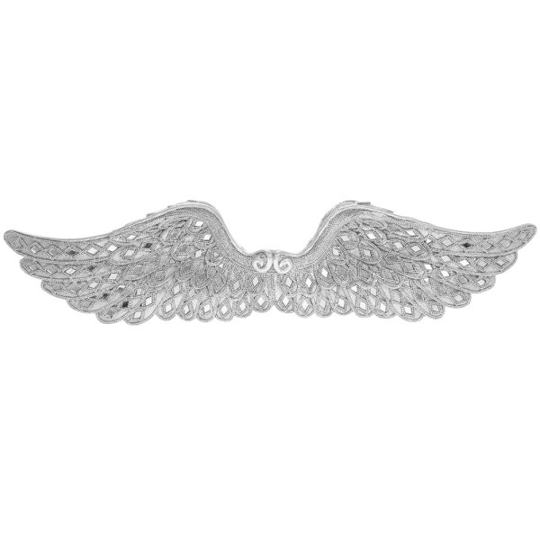 SILVER ART ANGEL WINGS