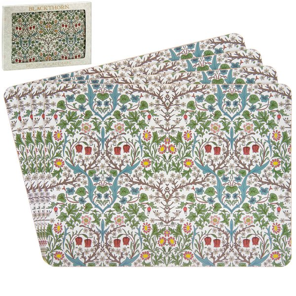 BLACKTHORN PLACEMATS S4