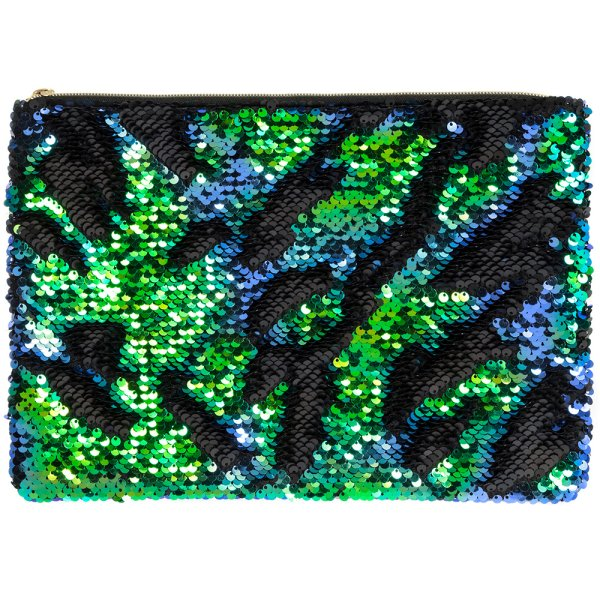 SEQUIN CLUTCH MULTI COLOURED