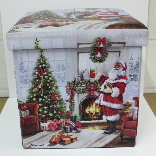 CHRISTMAS SANTA FOLDING BOX