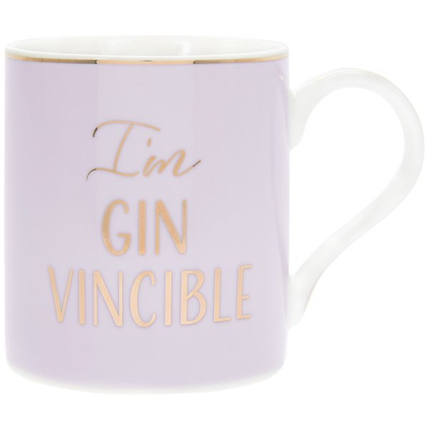 LET'S PARTY GIN-VINCIBLE MUG