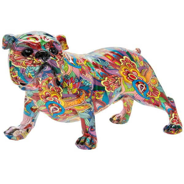 GROOVY ART BULLDOG LARGE