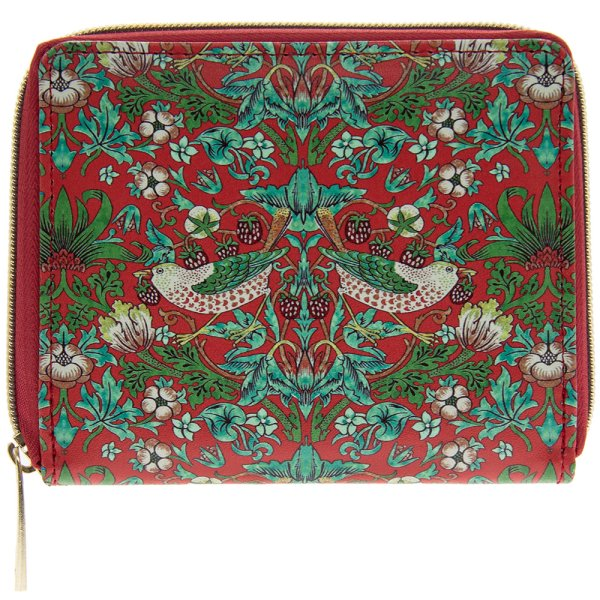S'BERRY THIEF WALLET RED