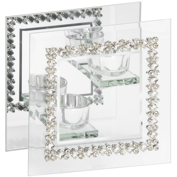 MIRROR DIAMANTE TLIGHT DBL