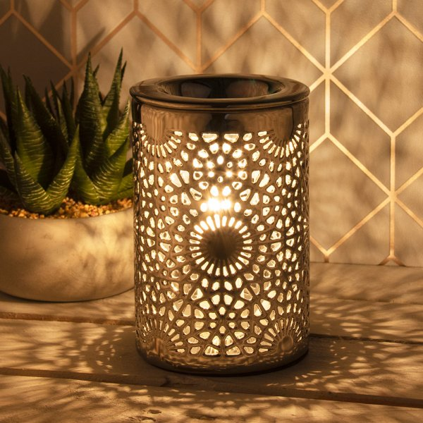 DESIRE AROMA LAMP SILVER