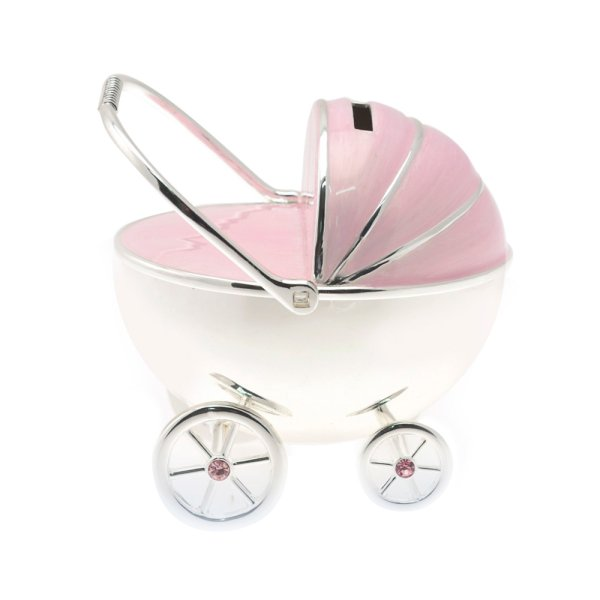S/P PRAM MONEY BOX PINK