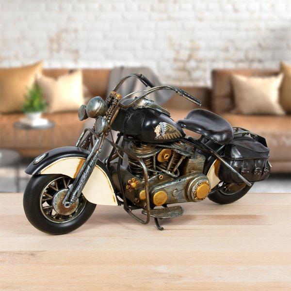 VINTAGE MOTORBIKE BLACK