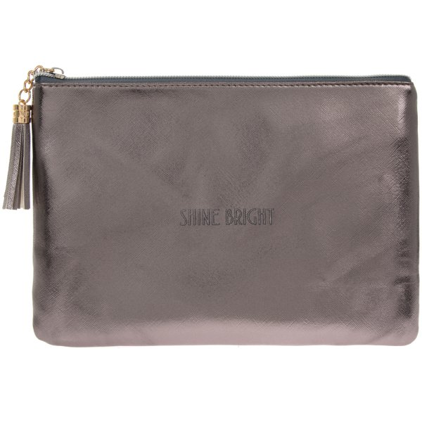 SHINE BRIGHT METALLIC CLUTCH