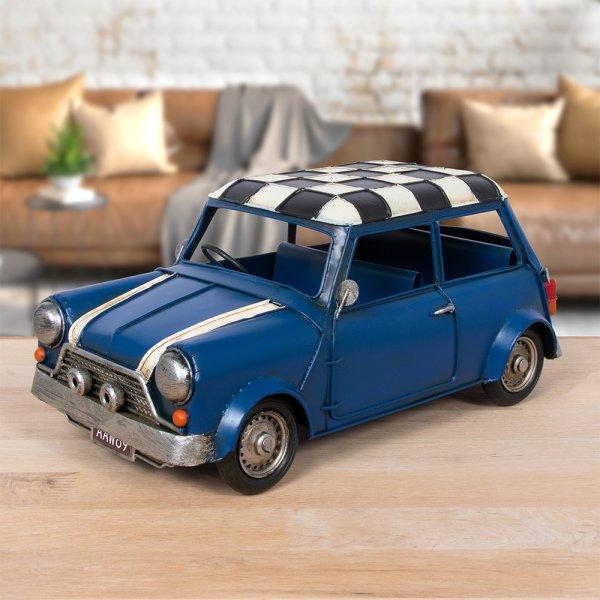 VINTAGE CLASSIC CAR BLUE