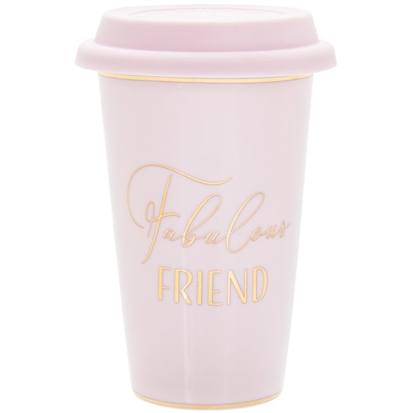 LETS PARTY FRIEND TRAVEL MUG