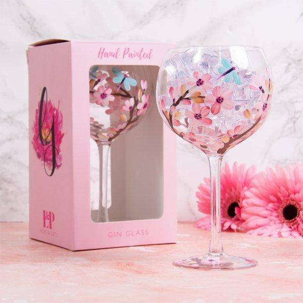 BLOSSOM & DRAGONFLY GLASS