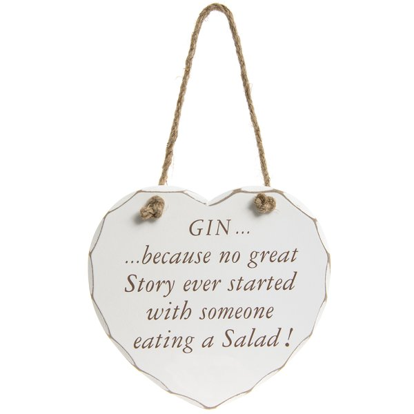GIN GREAT STORY PLAQUE