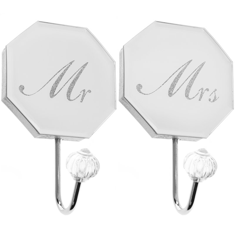 MIRROR MR&MRS WALL HOOK SET