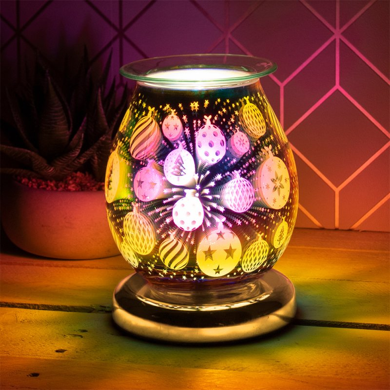 3D GOLD BAUBLE AROMA LAMP