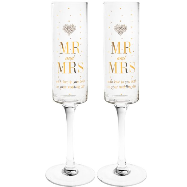MAD DOTS MR & MRS FLUTES 2 SET
