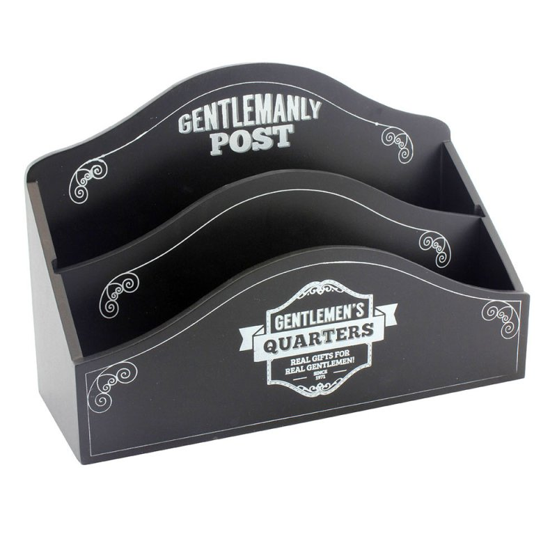 GENTS QUARTER LETTER RACK