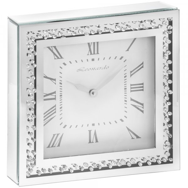 MIRROR CRYSTAL CLOCK
