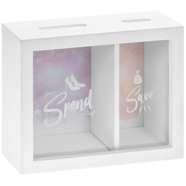 SPEND & SAVE MONEY BOX
