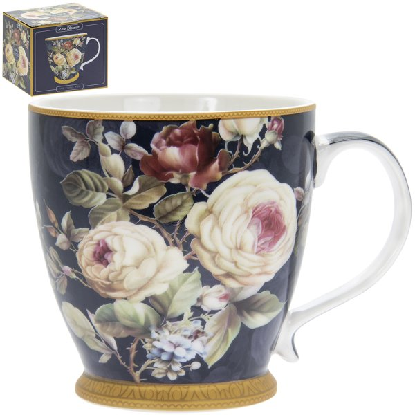 ROSE BLOSSOM BREAKFAST MUG
