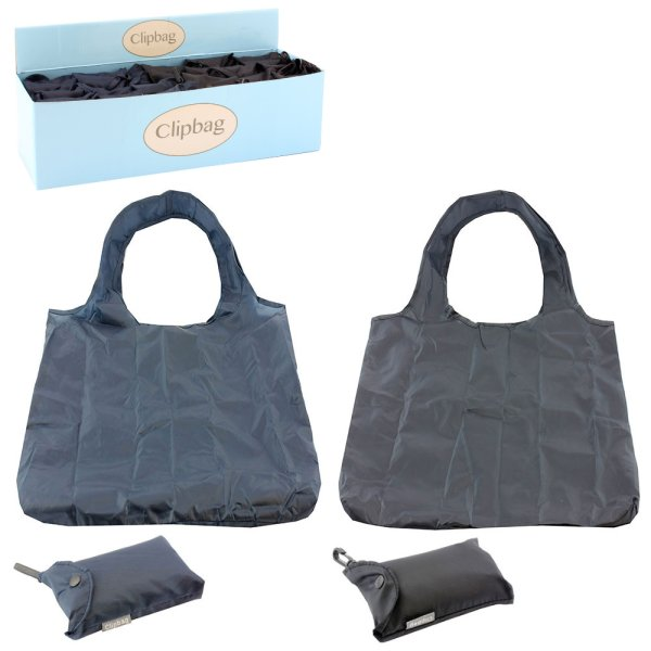 BLACK & BLUE CLIP BAG 2ASST