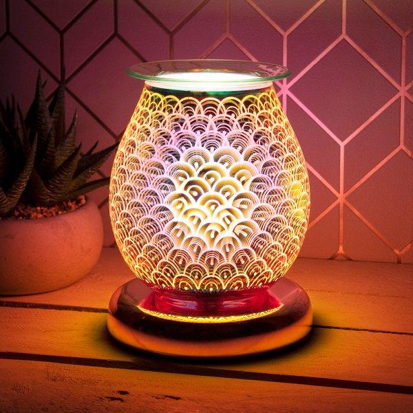 DESIRE AROMA LAMP ORB ROSE