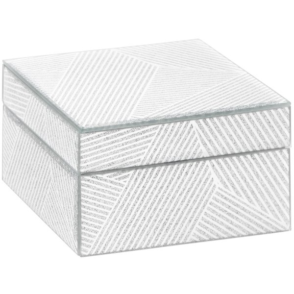 STRIPES MIRROR JEWELLERY BOX