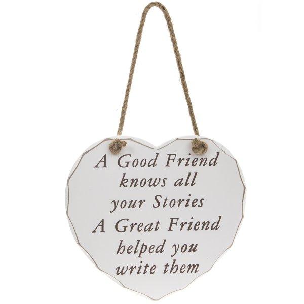 GOOD FRIEND GREAT FRIEND PLQ