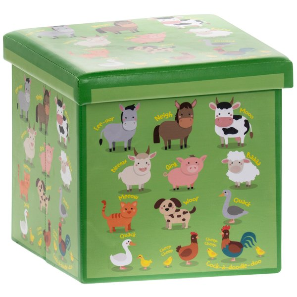 LITTLESTARS FARMYARDSTORAGEBOX