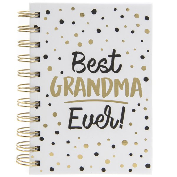 BEST GRANDMA EVER NOTEBOOK