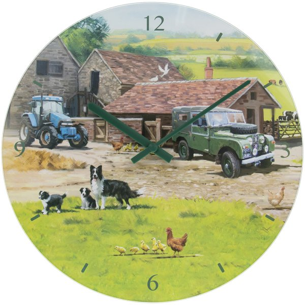 FARMYARD CLOCK