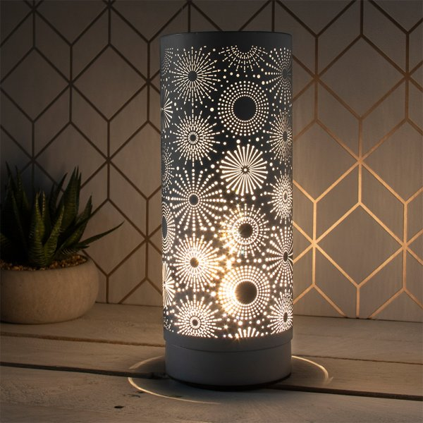 DESIRE SPARKLE LAMP GREY