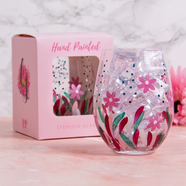 WILD FLOWERS STEMLESS GLASS