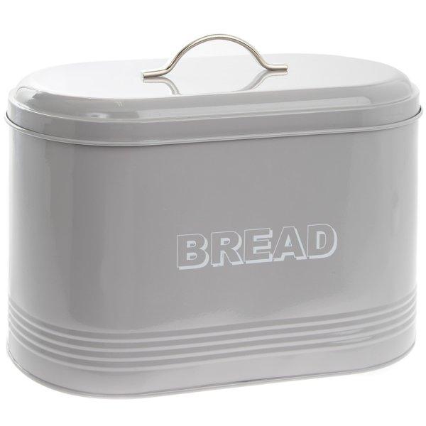 HSH GREY BREAD BIN