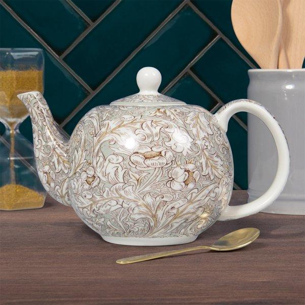 BACHELORS BUTTON TEA POT