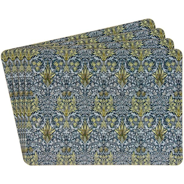 SNAKESHEAD PLACEMATS S/4