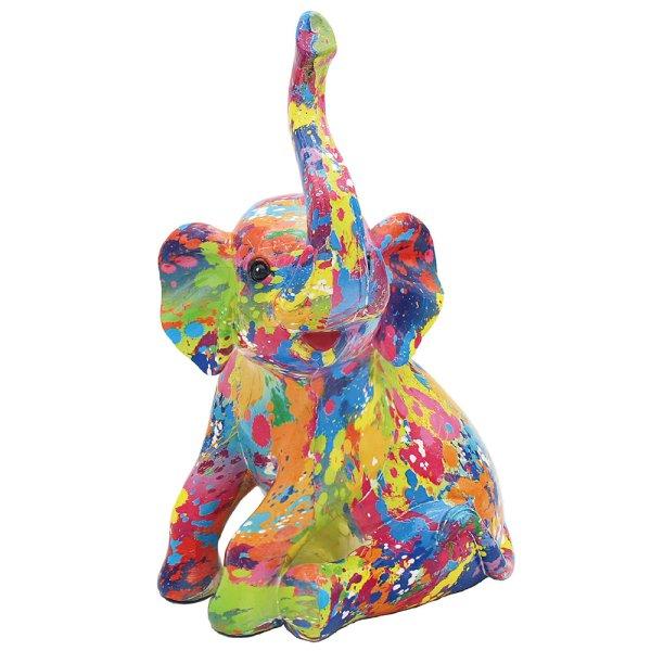 SPLASH ART ELEPHANT