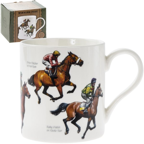 WINNING POST FINE CHINA MUG
