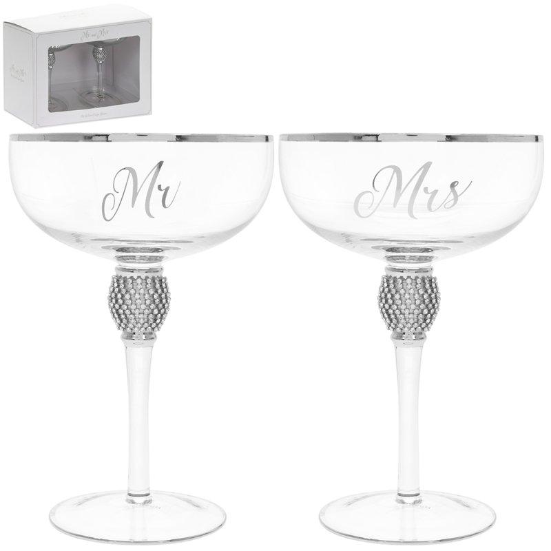 MR&MRS DIAMANTE COUPES SILV