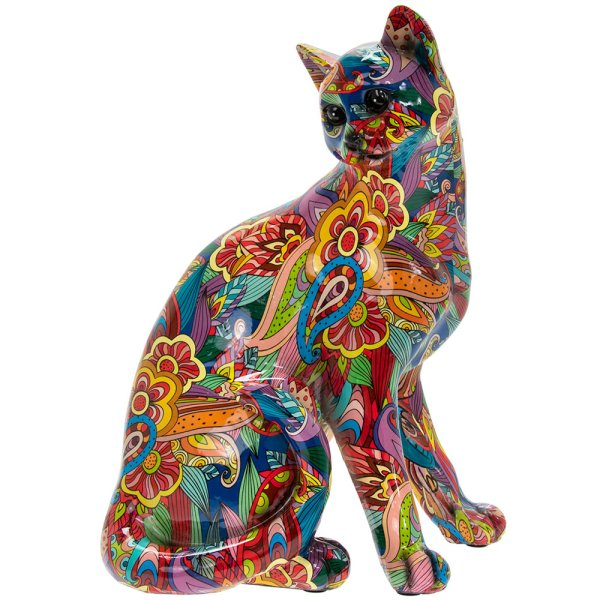 GROOVY ART CAT SITTING
